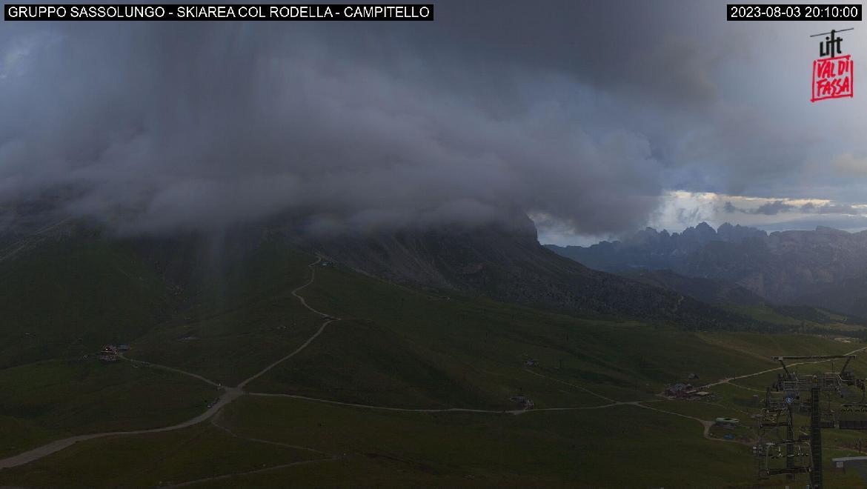 Webcam seggiovia Col Rodella