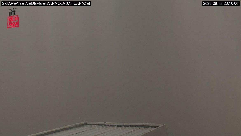 Webcam Marmolada vista da Col Rodella
